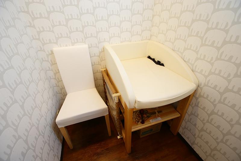 授乳スペース&おむつ替えスペース